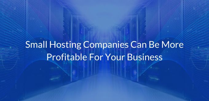 Small Hosting Companies